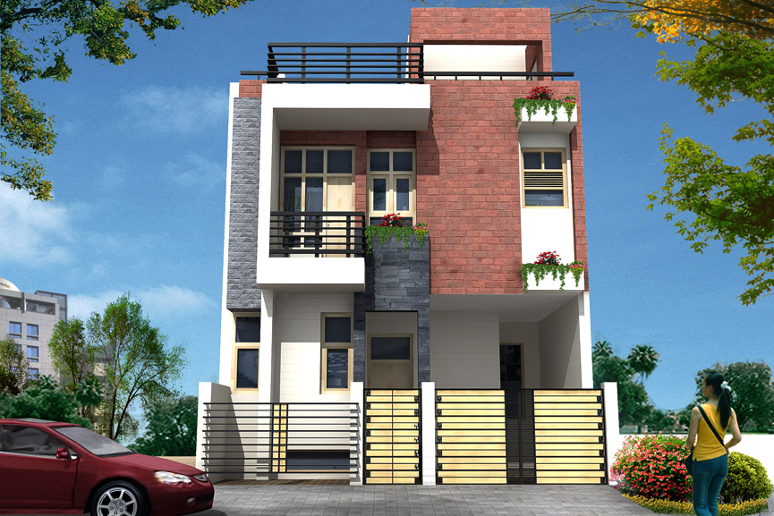 N Home Elevation Zip : Nisha creatives
